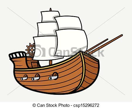 Tiny Boat Cartoon by Old Vintage Sea Ship Vector Drawing Art Of Cartoon Old
