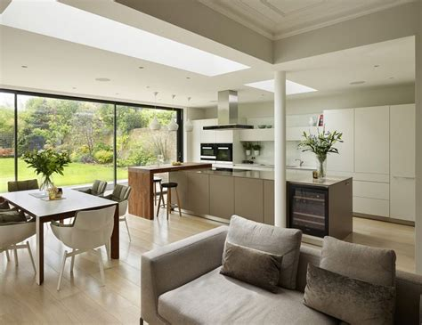 contemporary kitchen extensions best 25 open plan living ideas on 2486