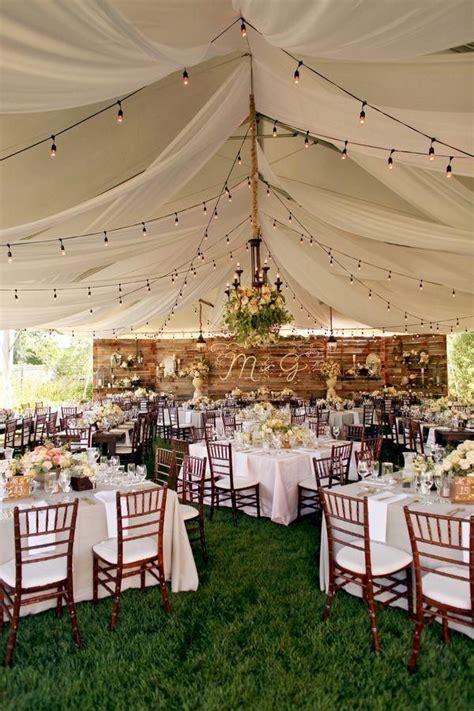 ideas  backyard weddings  pinterest