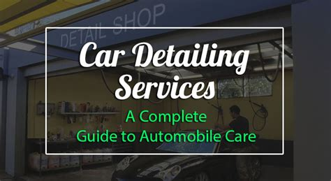A Beginner's Guide To Car Detailing Services, Best
