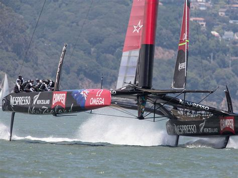 Catamaran Yacht Racing by Larry Ellison Has Completely Screwed Up The America S Cup