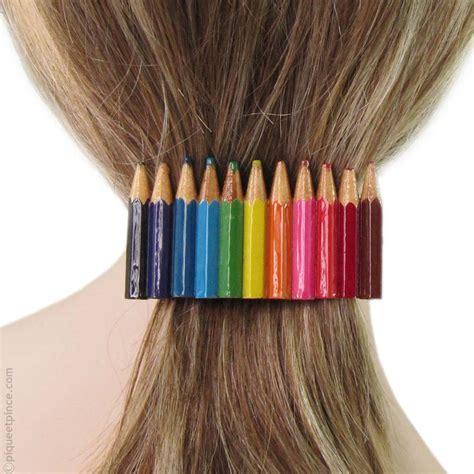 idees creatives  realiser avec des crayons de couleurs