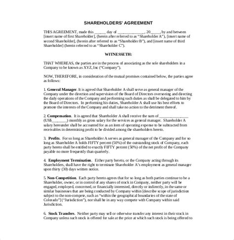business agreements startup entrepreneurs