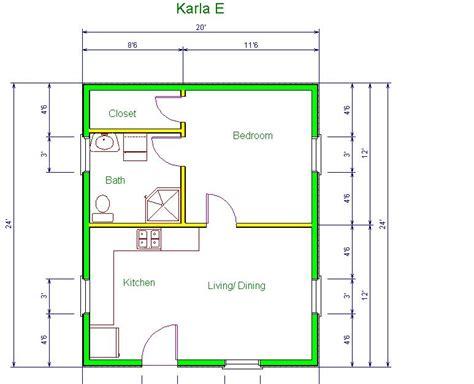 Pottery Barn Kitchen Ideas - cabin floor plans 20 x 24 home deco plans