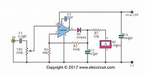 Analog Vu Meter Schematic  U2013 Electronic Projects Circuits