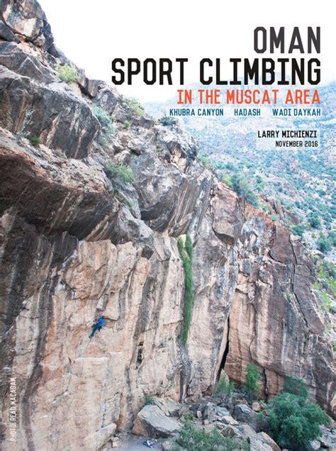 Oman Muscat Sport Climbing Guidebook