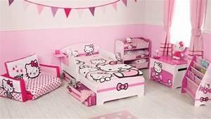Chambre Hello Kitty : d coration chambre fille hello kitty ~ Voncanada.com Idées de Décoration