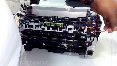 Hp laserjet pro m1536dnf : HP LaserJet P1102W - How to replce fuser sleeve - YouTube