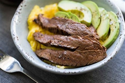 steak  egg breakfast bowl keto recipe  perfection