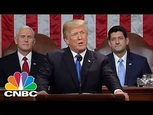 President Donald Trump Delivers The 2018 State Of The ...