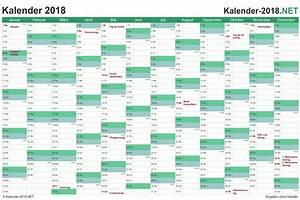 Jahreskalender 2018 2019 : kalender 2018 mit feiertagen ferien ~ Jslefanu.com Haus und Dekorationen