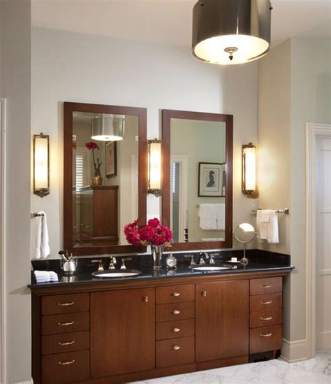 bathroom vanity lighting ideas  brighten   mornings