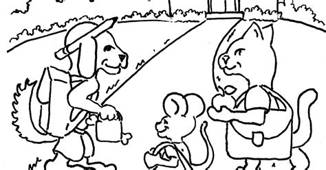 coloring pages  kids   adron animals   school print  color page