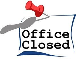 office will be closed sign template office closed for thanksgiving the adaptables inc