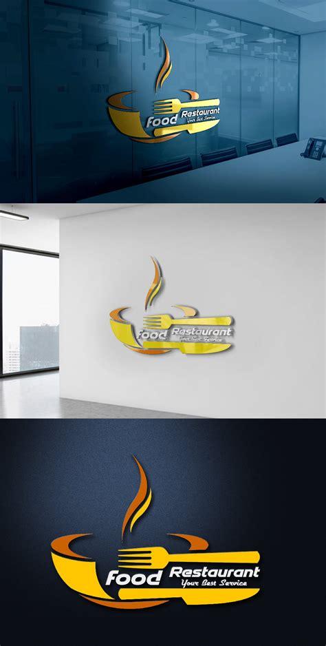 modern restaurant logo design  template