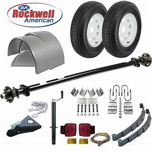 6 U0026 39  4 U0026quot  Wide Utility Trailer Parts Kit