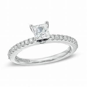 vera wang love collection 5 8 ct tw princess cut With vera wang wedding rings love collection