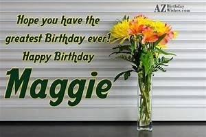 Happy Birthday Maggie