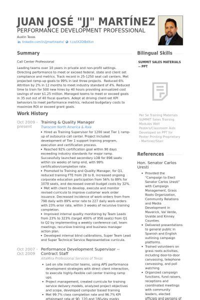 Qa Qc Curriculum Vitae by Responsable Qualit 233 Exemple De Cv Base De Donn 233 Es Des Cv De Visualcv