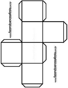 Cube Template - free to use | Templates | Pinterest