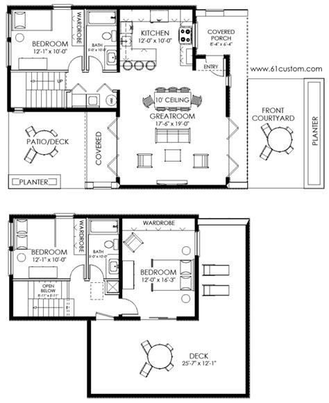 small modern floor plans small house plan ultra modern small house plan small