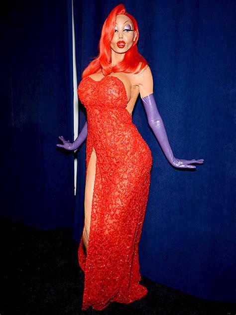 Heidi Klum's Jessica Rabbit Halloween Costume 2015 Photos