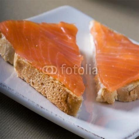 canap au saumon photos canapé au saumon