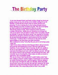 Health And Wellness Essay Descriptive Essay On A Surprise Birthday Party Medical Personal Statement  Writing Services Essay Writing Scholarships For High School Students also Abraham Lincoln Essay Paper Essay Birthday Party Writing Research Papers Book Essay Best  Easy Essay Topics For High School Students
