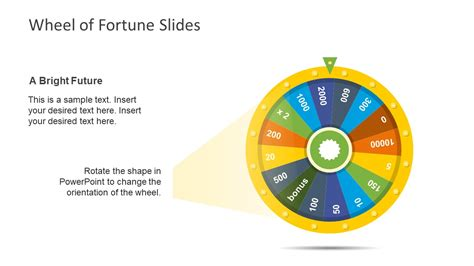 editable   fortune  wheel slidemodel
