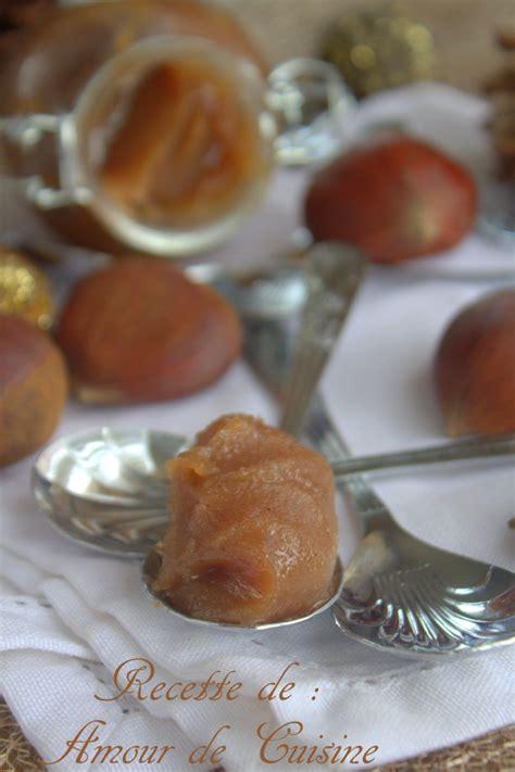 cuisine choumicha recette de la crème de marrons maison amour de cuisine