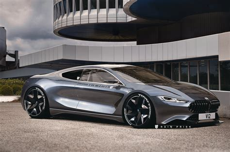 supercar with v12 engine rendering bmw 8 series reimagined as mid engine v12 supercar