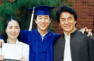 Jackie Chan's son Jaycee makes surprise appearance in dad ...