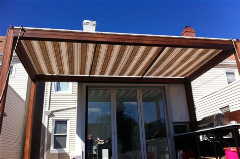 retractable awning awnings  canopies