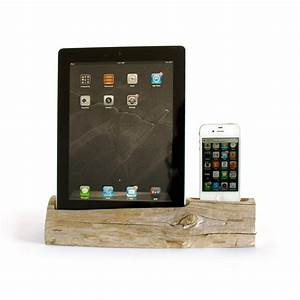 Iphone 4 Dockingstation : driftwood docking station ipad phone ipad 2 3 iphone 4 docksmith touch of modern ~ Sanjose-hotels-ca.com Haus und Dekorationen