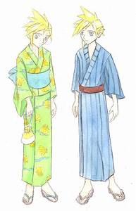 Kimono - Yukata by FlidgetJerome on DeviantArt