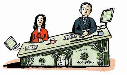 Salary Still Female Clipart Cartoon Clip Mostly