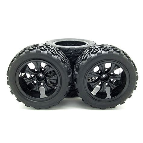 10 Rc Monster Truck Car Wheel Type Tires With 7 Spokes