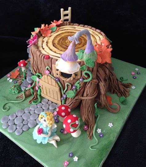 fairy house cake cake  craftycakes cakesdecor