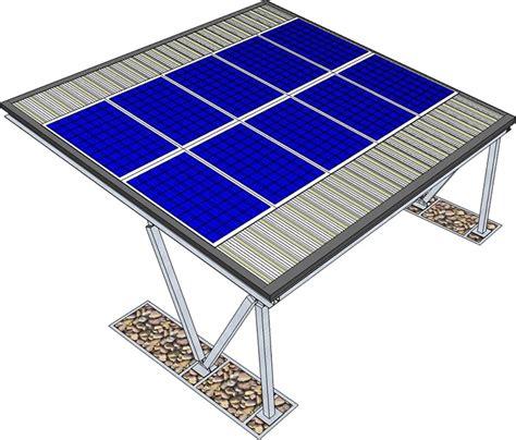 tettoie fotovoltaiche pensilina per auto con impianto fotovoltaico kit solutions