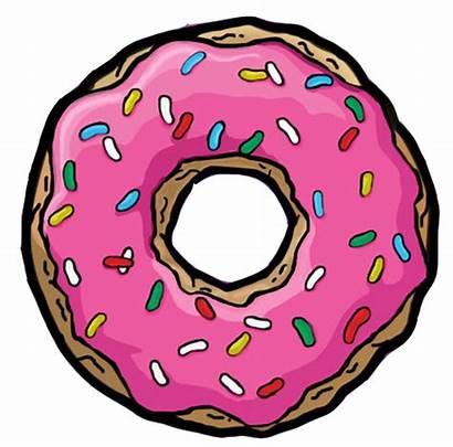 Donut Clipart Simpsons Doughnut Transparent Morgan Donuts