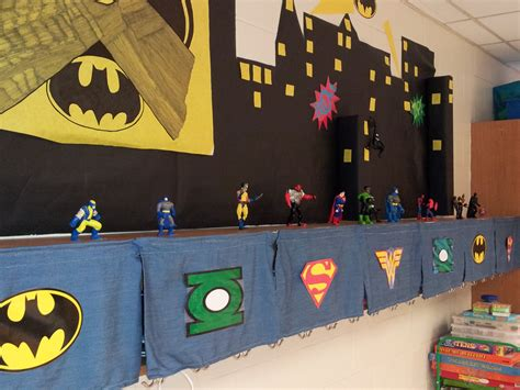 Superhero Themed Class  The Bow Tie Teacher