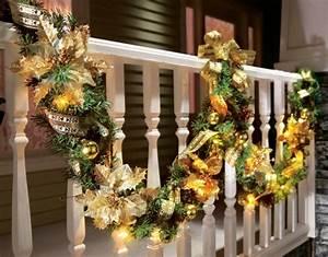 Weihnachtsdeko Als Festlicher Leuchtender Outdoor Schmuck