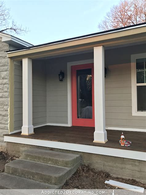 wrap front porch posts turn skimpy front porch