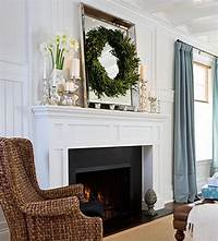 decorating fireplace mantels 48 Inspiring Holiday Fireplace Mantel Decorating Ideas ...