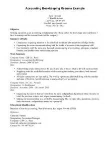 Accounting Internship Cover Letter No Experience Accounting Bookkeeping Resume