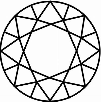 Diamond Svg Drawing Clipart Vector Line Wpi