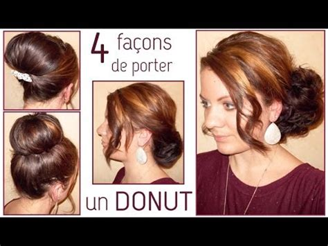 coiffures avec  donut la hairstyle inspiration
