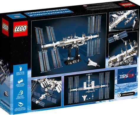 lego international space station model ready  sail
