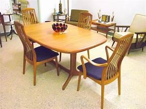 Appealing Vintage Mid Century Modern Furniture Dining