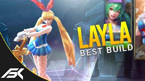 Mobile Legends Pentakill Layla Insane Build